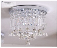 6068 350MM NEW Free Shipping High Quality Luxuriant Flush Mount with A Grade K9 Crystal , Chandelier light,glass lamp,110v,220v