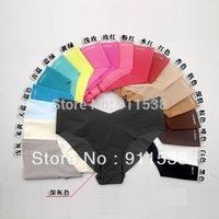 Free shipping 3pcs/lot Dupont top fabric ultra-thin comfortable one piece seamless panties seamless women's briefs plus size #