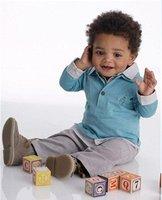 Free shipping 4 sets/lot children suit,children long sleeve shirts +pant,children wear,kids suit,baby suit