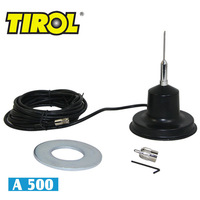 T17034a 500 Watt AM Capable CB Antenna High Quality Magnet Mount Amateur Antenna Freeshipping