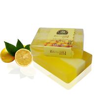 (5pcs/lot) High Quality Lemon Natural Handmade Bath or Face Soap As Man Shaving Soap