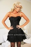promotion  free shipping elegant  sexy piping  corset DY2163