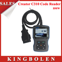 2014 High Quality Original Latest Version V4.4 Creator C310 for BMW Multi System Scan Tool C310 scanner OBDII/EOBD Code Reader