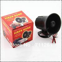 the car siren  car alram sien 6-12V  power on  be alarming  free shipping