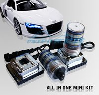Super selling for 12V 35W  9006 HID kits Auto MINI All in one KIT With Integrative Ballast HID XENON kit