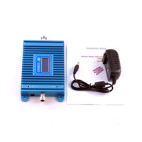 1PCS Hot Sale! LCD Display GSM980 900MHz Gain 65dBi Mobile Phone Signal Amplifier Booster Repeater Free Shipping