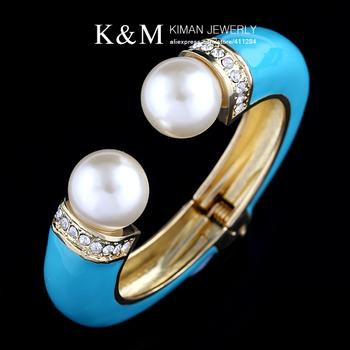 Mix.order is accepted. BR-03155 Модный enamel bracelets&bangles with 18K Золото ...