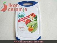 Free Shipping! High Quality New 100% IKON Ceramic Polypropylene Chopping block (AJ-CB-BL)