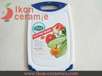 Free Shipping! High Quality New 100% IKON Ceramic Polypropylene Chopping block (AJ-CB-BL)