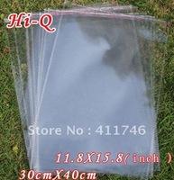 100pcs 30 x 40 cm Clear Self Adhesive Seal Big Plastic OPP Bags