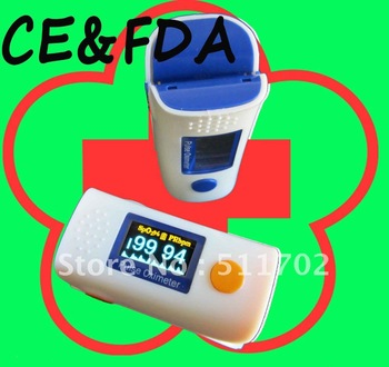 CE&FDA Fingertip Pulse Oximeter OLED display, SPO2 monitor, oximetry WHOLESALE