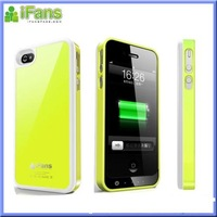 iFans Portable Battery Charger for iPhone 4 4s battery case free shipping