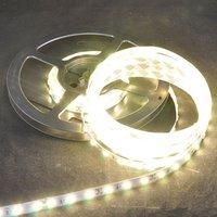 5M New Ultra Brightness Non-waterproof 18-20LM/led 60LED/M DC12V Warm White SMD 5630 Led Strip Light