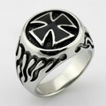 Free shipping!!! Promotion! masonic cross metal rings gifts