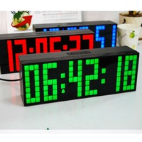 Free Shipping !DIGITAL WEATHER PROJECTION SNOOZE ALARM CLOCK WALL CLOCKS