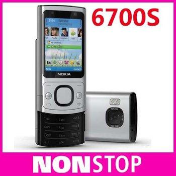 6700S Original Nokia 6700S Bluetooth FM JAVA 5MP Unlock Cell Phones