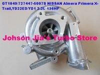 NEW GT1849V/727477-5007S 14411-AD200 Turbocharger NISSAN Almera Primera X-Trail,YD22ED/YD1,2.2L 136HP