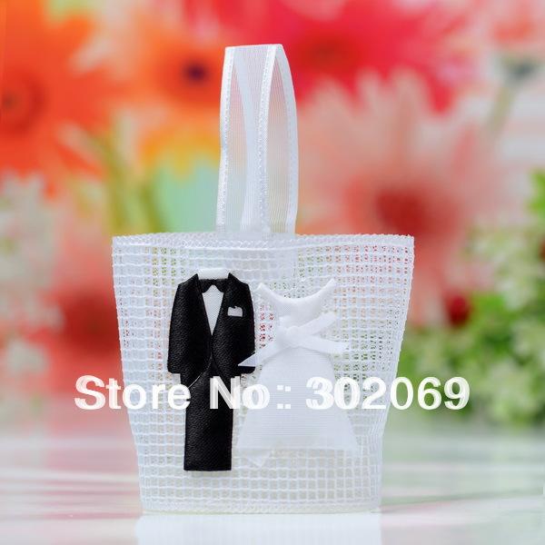 2012 nuovi progetti tuxdeo abito favore sacchetti, sacchetti regalo per il matrimonio( bf519)