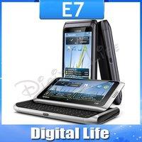 E7 Original Nokia E7 WIFI 3G GPS Touchscreen 8MP Unlocked Mobile Phone One Year Warranty