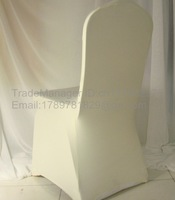 ivory spandex chair cover/lycra chair cover/banquet chair cover-FREE SHIPPING-