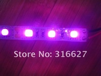 Free HK post shipping 12V 50M Pink color LED flexible light 300 Leds/roll 5050 SMD non-waterproof 5M/Roll