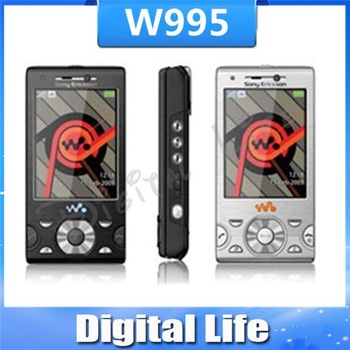 W995 Original Sony Ericsson  W995i Cell Phone 8.1MP 3G WIFI GPS