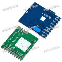 5.8G 200mw Wireless AV Transmitter Module+5.8G Video AV Receiver Set for FPV System