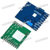 5.8G 200mw Wireless AV Transmitter Module+5.8G Video AV Receiver Set for FPV System