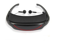Virtual 72inch new FPV goggles video glasses with AV-in. DHL free shipping