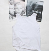 free shipping two piece Mens Plastic Chest ratite corset thin chest close chest vest