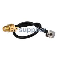 TS9 Plug RA to SMA female pigtail cable for Novatel Wireless USB MODEM