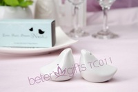48pcs=24box Love Birds Wedding Favor Salt and Pepper Shakers TC011 Party Souvenirs