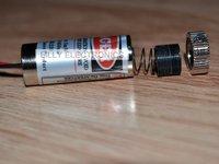 650MD-5-1235-BL 650nm 5mW Red Laser Dot Module 12x35mm