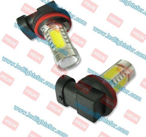 free shipping h8 fog automotive9.5w,H8 car led,led Spotlight H8 high power(China (Mainland))