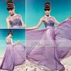 Coniefox New Arrival Purple Elegant Evening Fomal Gown 56985