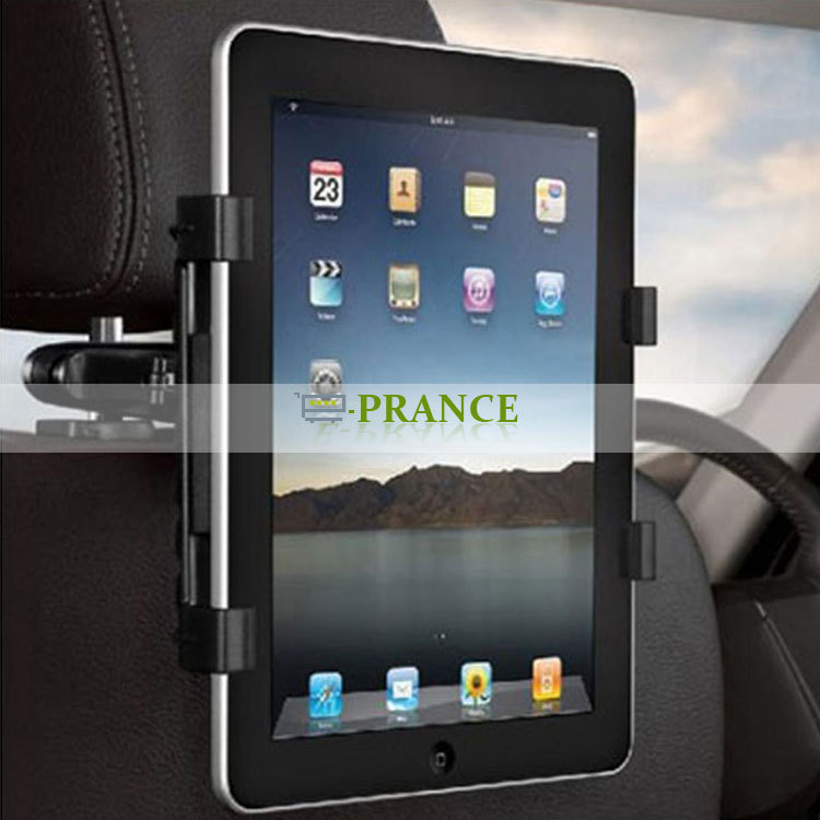 Multi-Direction Car Mount Headrest Holder universal Clip Bracket For iPad Tablet PC GPS Drop Shipping(China (Mainland))