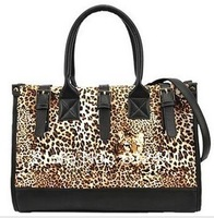 Fashion New Design Casual  Leopard Pattern Woman Lady Girls New Style Tote Bag Handbag Channel Bag Shoulder Bag Messenger Bag