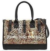 Fashion New Design Casual  Leopard Pattern Woman Lady Girls New Style Tote Bag Handbag Channel Bag Shoulder Bag Messenger Bag