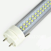 Free shipping~60cm T8 LED tube (10W,144pcs smd led,600lm,600mmx26mm,aluminum shell) EMS to Russia