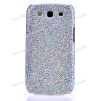 S3 New  Bling Back Cover  Glitter Case For Samsung Galaxy S3 Slll i9300 With Gift Anti-Scratch Screen Protector