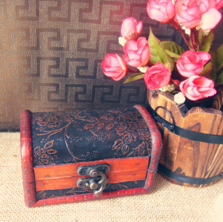 High quality Retro style Chinese handmade wedding wooden box for the bracelet gift box, trinket jewelry wholesale free shipping(China (Mainland))