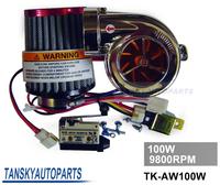 TANSKY - NEW MOTOR ELECTRICAL TURBOCHARGE 100W 9800RPM FOR PIT PRO / TUMPSTAR / ATV QUAD BIKE 125CC/500cc TK-AW100W