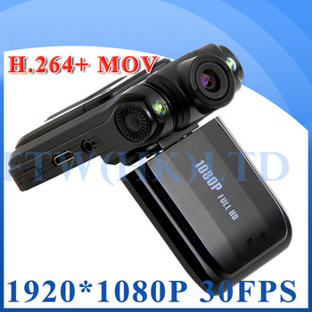 Wholesale 100% original CAR DVR recorder with  FULL HD 1920*1080p H.264 video wide-angle 120 degree Ambarella CPU Free Shipping