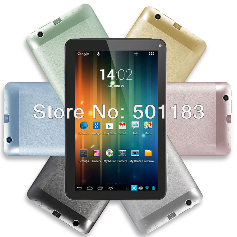 Dropship 7 inch Tablet PC Android 4.2 Jelly Bean Dual Core Dual Camera Wifi HDMI with Google Play Store(Hong Kong)