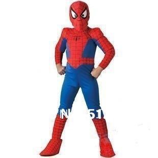 Spider Man Spiderman traje traje de hombre araña hombre araña traje de niño