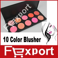 Free Shipping 10 Colors Professional Makeup Powder Cosmetic Make Up Blusher Palette Set,BE11