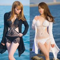 New  hot selling fashion ladies' bikinis Hand crochet bikini factory direct retail and wholesale swimwear