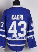 #43 Nazem Kadri Jersey,Ice Hockey Jersey,Best quality,Embroidery logos,Authentic Jersey,Size M--XXXL,Accept Mix Order
