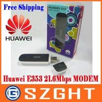 Freeshipping New Huawei E353 3G Wireless Modem 21.6Mbps