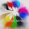 Wholesale  200 pcs/Lot Turkey Marabou Feathers  washed goose down 8-16 cm Fluffy Dress jewelry/Christmas/Halloween decoration